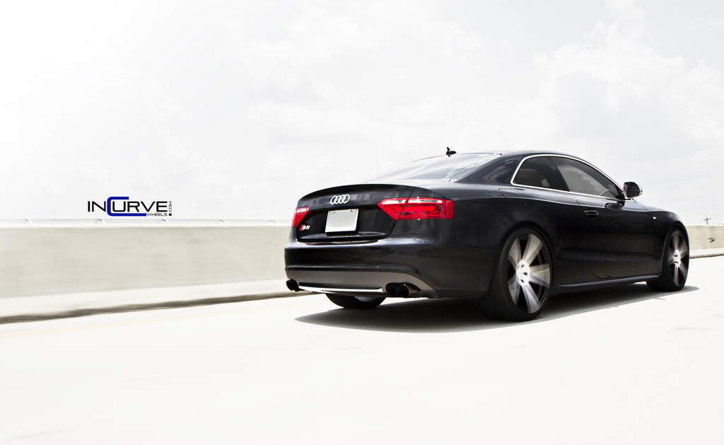 Incurve Wheels IC-S5 Machined Black on Audi S5