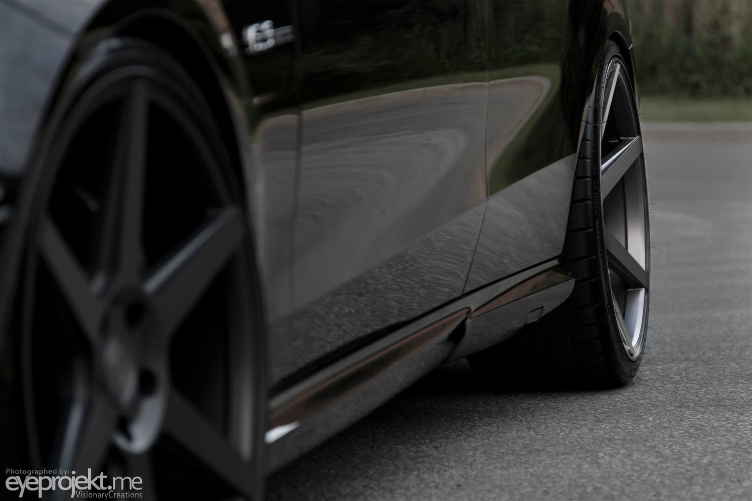 Stance Wheels SC-6 Slate Grey on Mercedes Benz E63 AMG