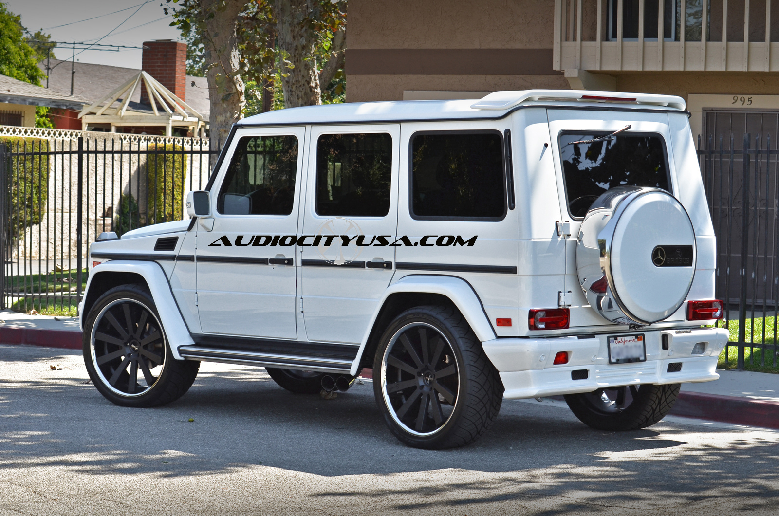 Gianelle Santo 2SS Black On Mercedes-Benz G Class