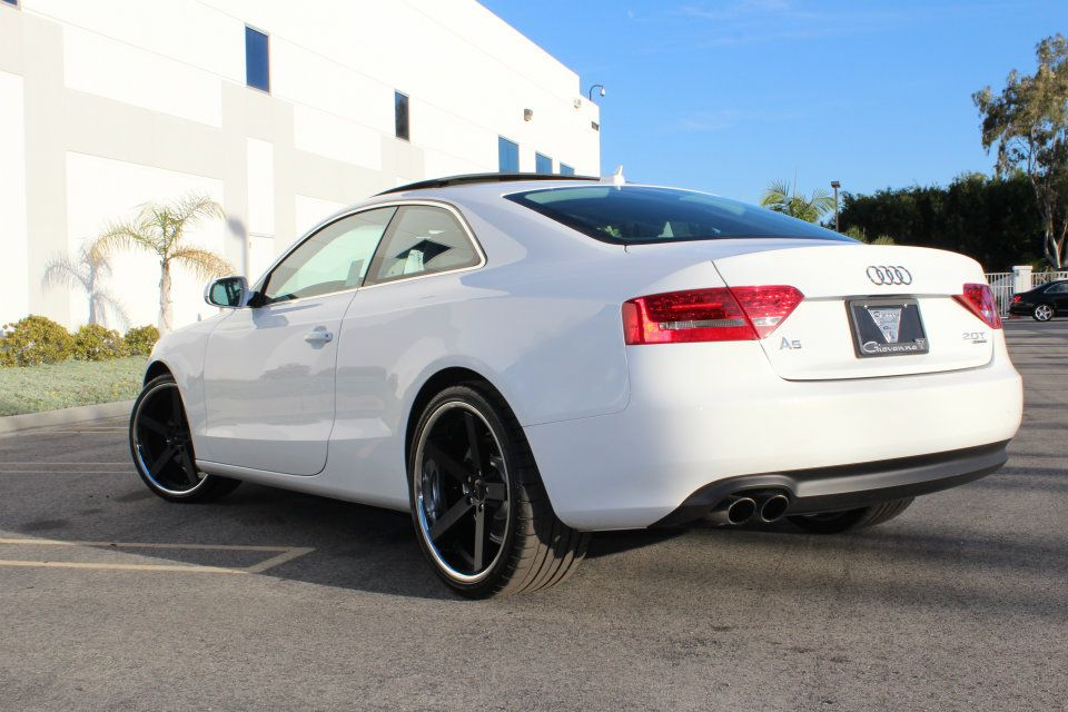 Giovanna Mecca Black On Audi A5