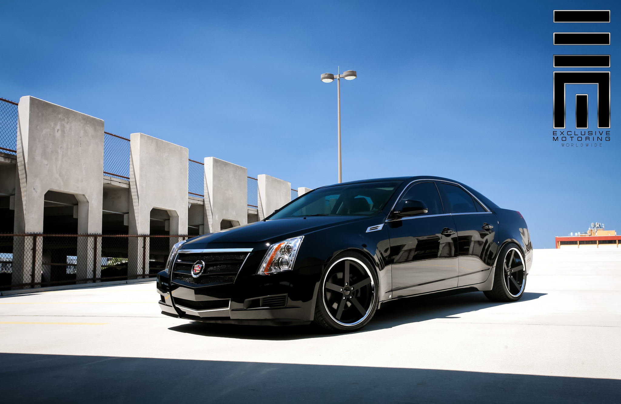 Giovanna Mecca Black on Cadillac CTS
