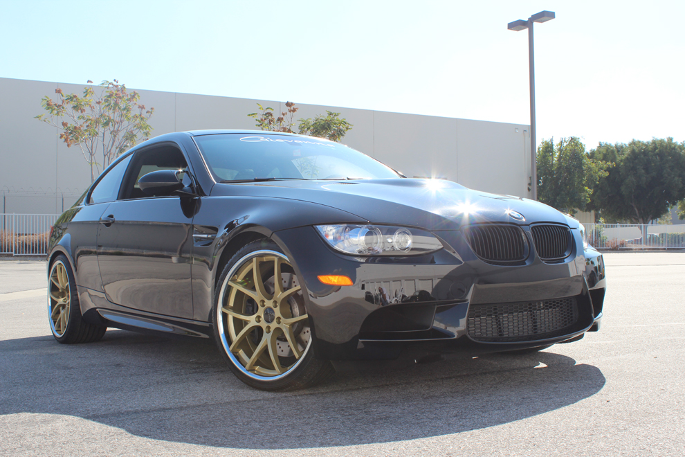 Giovanna Monza Gold on BMW M3