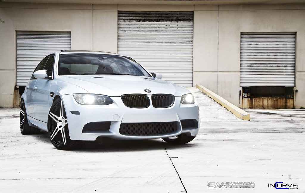 Incurve Wheels IC-S5 Machined Black on BMW M3 E90
