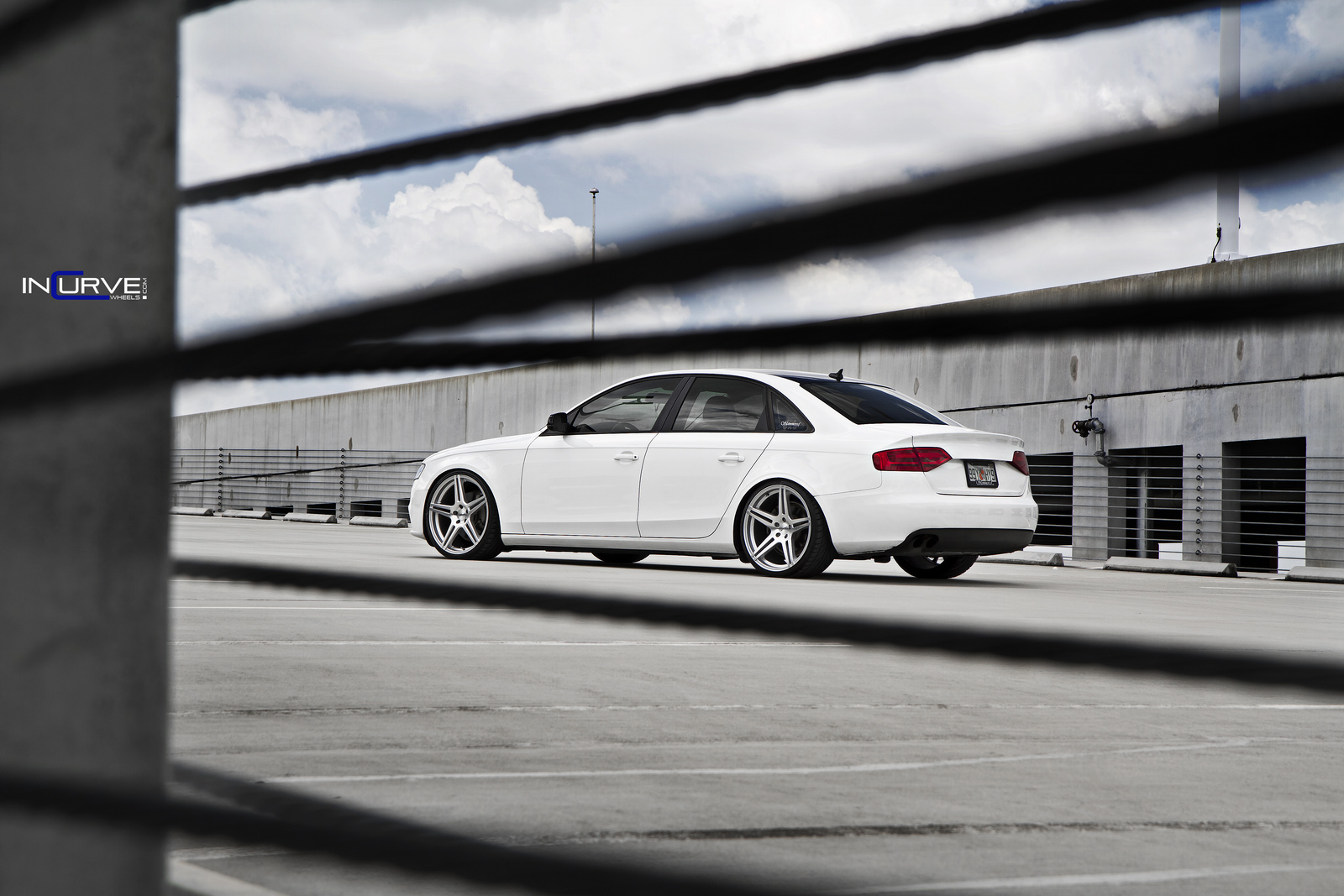 Incurve Wheels IC-S5 Silver on Audi A4