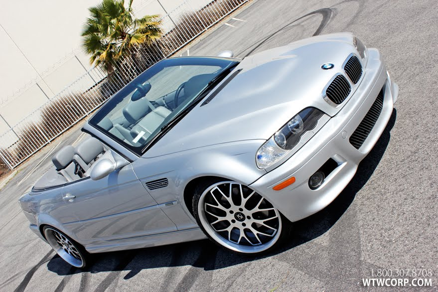 Koko Kuture Fann on BMW M3 Cabrio