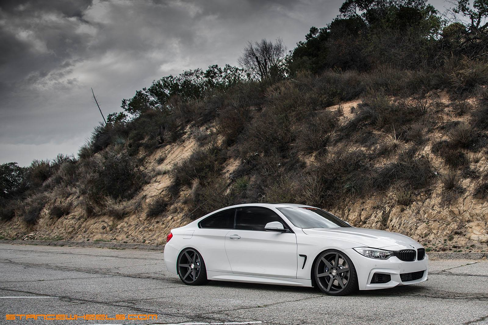 Stance Wheels SC-6 Slate Grey on BMW 435