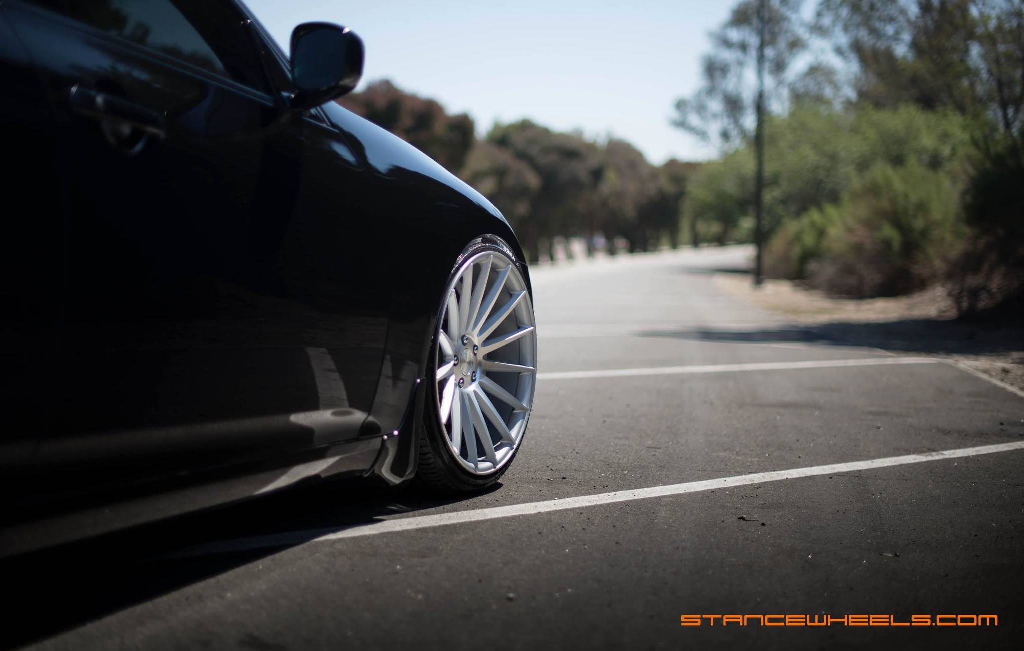 Stance Wheels SC-7 Silver on Infiniti G37