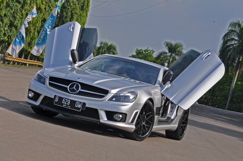 Vertini Concave Magic on Mercedes SL55 AMG