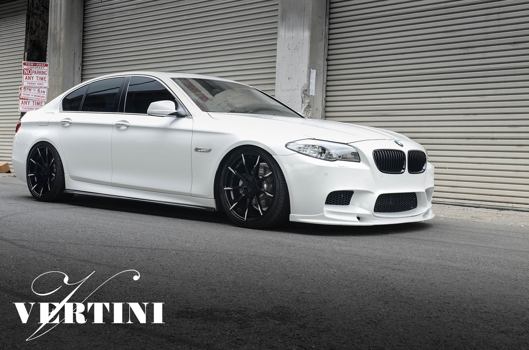 Vertini Flying Black 20'' on BMW F10